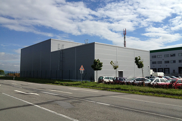 Výrobní hala INGMETAL Prešov, SK