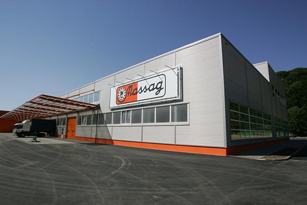 Revitalizace výrobního areálu MASSAG Bílovec
