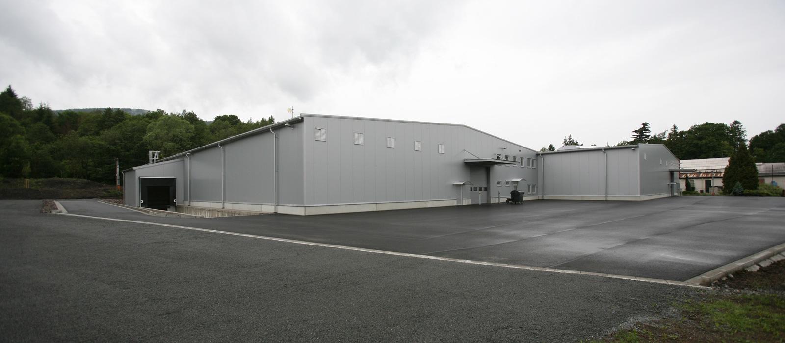 Dostavba výrobního areálu PV-Czech Frýdlant nad Ostravicí